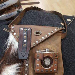 Country Tasche mit Kuhfell